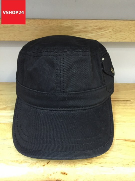 *Mũ đầu vuông Hàn quốc khaki 331