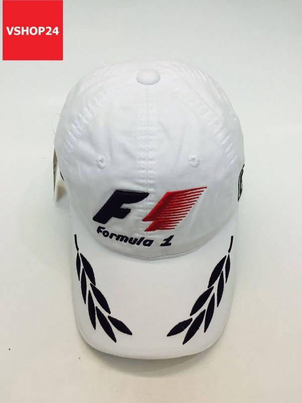 Nón kết Ferrari Formula 1 màu trắng 100