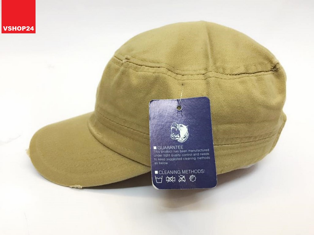 *Mũ khaki đầu vuông style Hàn Quốc PIT BULL 023