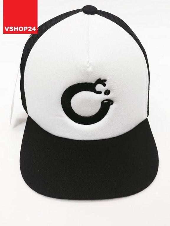 *Mũ lưới trẻ em VNXK chữ cái C đen trắng 156