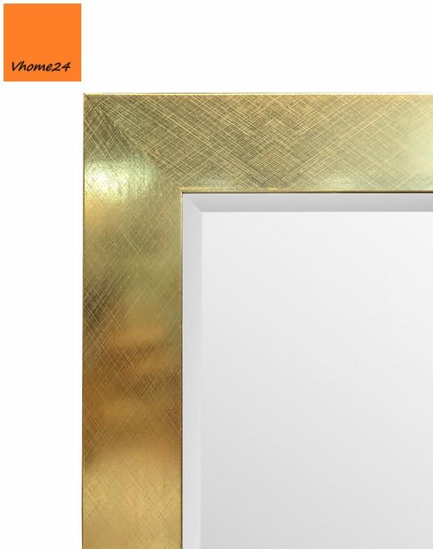 *Gương soi toàn thân viền mạ vàng trơn GSTT214