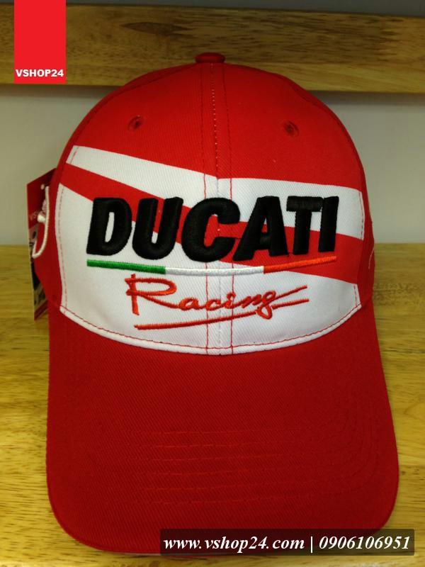 Mũ lưỡi trai Ducati màu đỏ 074