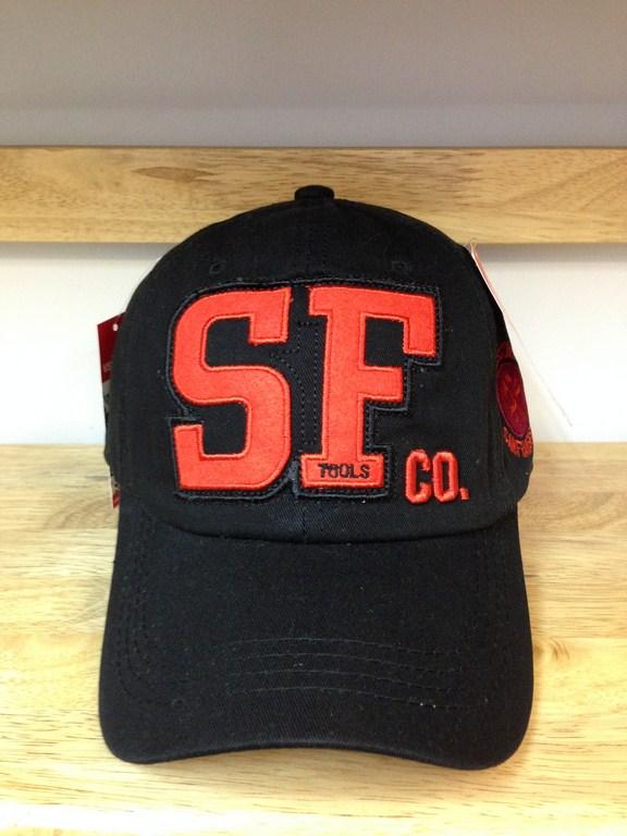 *Mũ thời trang nam SF đen 290