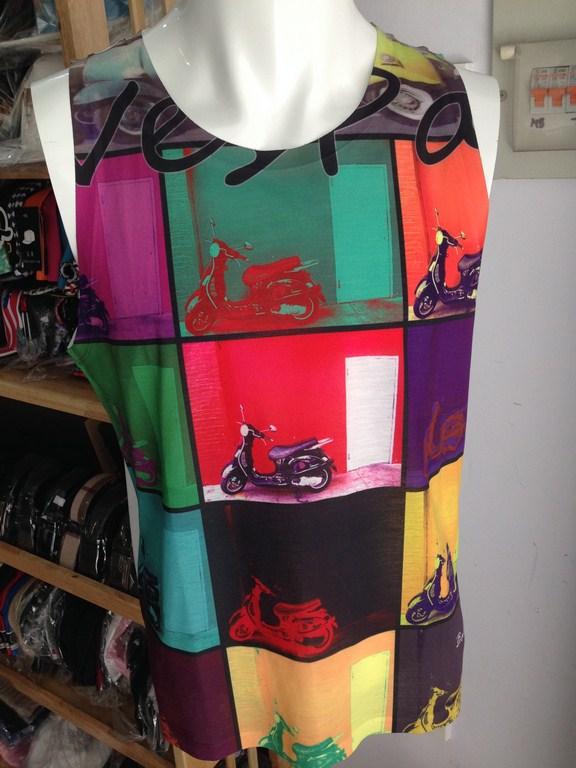 Áo ba lỗ thời trang nam Thái Lan họa tiết in vespa 017