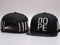 *Mũ snapback cao cấp Dope 3 vạch đen 314