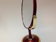 *Gương trang điểm nhựa cao cấp đỏ đun 064