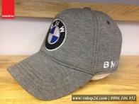 Nón kết cotton cao cấp BMW ghi 236