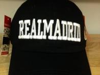 Nón CLB REAL MADRID đen 123