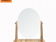 *Gương trang điểm gỗ 1 mặt oval xoay 360 GTD1340