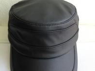 Mũ đầu bằng chất liệu da cao cấp 021