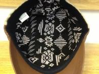 *Mũ đầu vuông vải thô kết hợp đinh 217