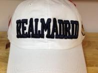 Mũ CLB REAL MADRID trắng 122
