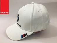 *Mũ thể thao khaki BMW trắng 129