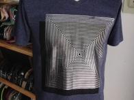 Áo phông nam cao cấp THÁI in họa tiết vuông 074