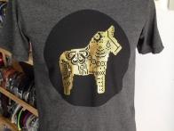 Áo phông nam cao cấp Thailand họa tiết in ngựa 076