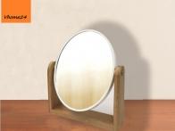 *Gương trang điểm đế gỗ 2 mặt GTD162